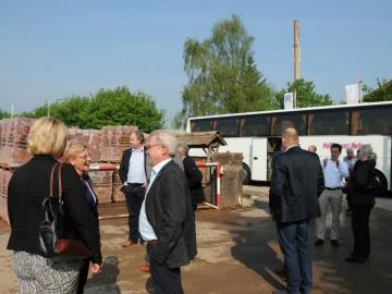 't Koetshuys, bezoek steen- en pannenfabriek
